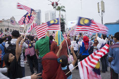 Malaysia-Unabhängigkeitstag 57. Lizenzfreies Stockbild