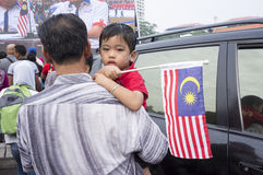 Malaysia-Unabhängigkeitstag 57. Stockbilder