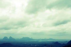 Malaysia. View from wang kelian , perlis malaysia Royalty Free Stock Photography