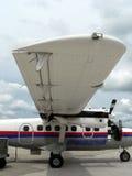 Malaysia widok burty statku powietrznego Zdjęcia Royalty Free