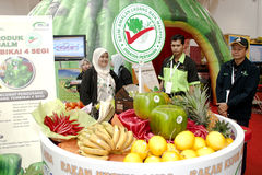 Malaysian Agriculture and Agrotourism Show Stock Photography