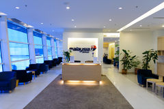 Malaysian Airline lounge interior Royalty Free Stock Photos