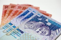 Malaysian Bank Notes Royalty Free Stock Photo
