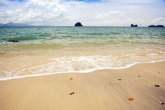 Malaysian Beach Royalty Free Stock Photos