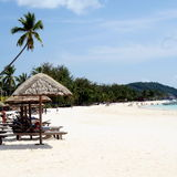 Malaysian beach Royalty Free Stock Image
