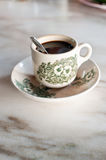 Malaysian Breakfast Coffee. Served in a cup Royalty Free Stock Photos