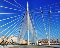 Malaysian Bridge, Pattern and Design. An image of pattern and design of bridge Royalty Free Stock Photos