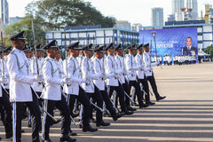 Malaysian cadet inspector Stock Photos