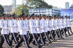 Malaysian cadet inspector Royalty Free Stock Photo