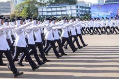 Malaysian cadet inspector Royalty Free Stock Photos