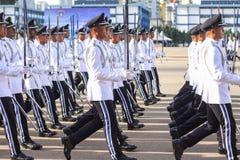Malaysian cadet inspector Stock Photo