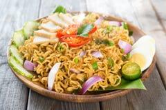 Malaysian cuisine maggi goreng mamak Stock Image