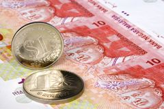 Malaysian currency Stock Photos