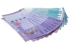 Malaysian currency Stock Photos