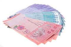 Malaysian currency Stock Image