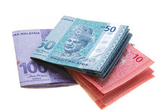 Malaysian currency Royalty Free Stock Photography