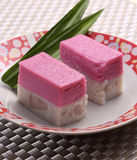 Malaysian Dessert. Malaysian traditional dessert nyonya kuih royalty free stock photo