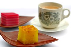 Malaysian Evening Tea Stock Photography