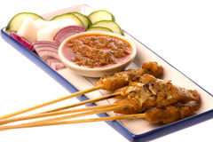Malaysian Fish Satay Royalty Free Stock Image