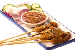 Malaysian Fish Satay royalty free stock image