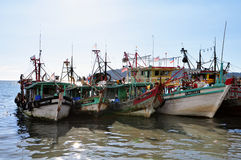 Malaysian Fishing Vessel royalty free stock image