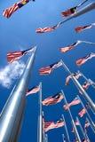 Malaysian Flags Stock Photos