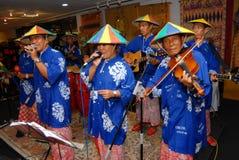 Malaysian Folk Music Royalty Free Stock Images