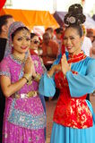 Malaysian Folkloric dancers Stock Photo