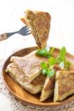Malaysian food murtabak Royalty Free Stock Photos