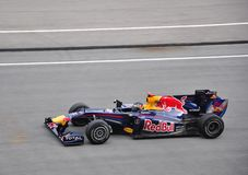 Malaysian Formula 1 Grand Prix  2010 Royalty Free Stock Image