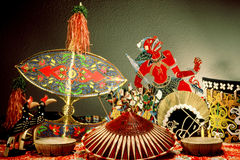 Malaysian Handicrafts Royalty Free Stock Photos