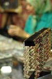 Malaysian Jeweller Royalty Free Stock Photo