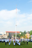 Malaysian King Birthday Parade Celebrations 2011 Stock Photography