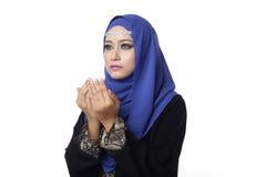 Malaysian malay woman Stock Photos