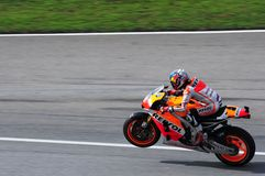Malaysian Moto GP 2013 - Dani Pedrosa Royalty Free Stock Image