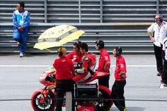 Malaysian Moto GP 2013 Stock Photos