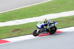 Malaysian Moto GP 2013 -Valentino Rossi Stock Photography