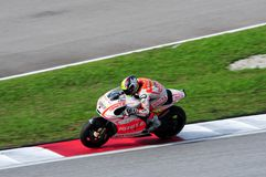 Malaysian Moto GP 2013 - Yonny Hernandez Stock Photo