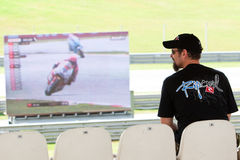 The Malaysian Motorcycle Grand Prix 2011 Royalty Free Stock Photography