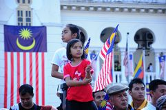 Malaysian National Day 2012 Royalty Free Stock Photo
