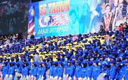Malaysian National Day 2012 Royalty Free Stock Photo