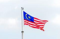 Malaysian national flag Royalty Free Stock Image