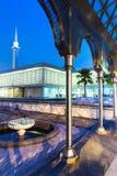Malaysian National Mosque. ( Masjid Negara ), Kuala Lumpur, Malaysia Royalty Free Stock Images