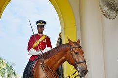 Malaysian National Palace guards Royalty Free Stock Images