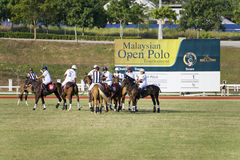 Malaysian Open Polo Action Stock Photography