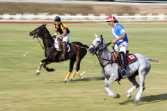 Malaysian Open Polo Action (Blurred) Royalty Free Stock Images