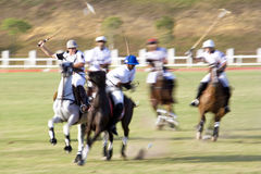 Malaysian Open Polo Action (Blurred) Royalty Free Stock Photography