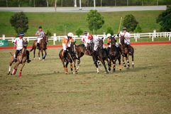 Malaysian Open Polo Tournament 2011 Royalty Free Stock Photography