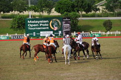 Malaysian Open Polo Tournament 2011 Stock Photo