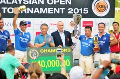 Malaysian Open Polo Tournament 2015 Stock Photo